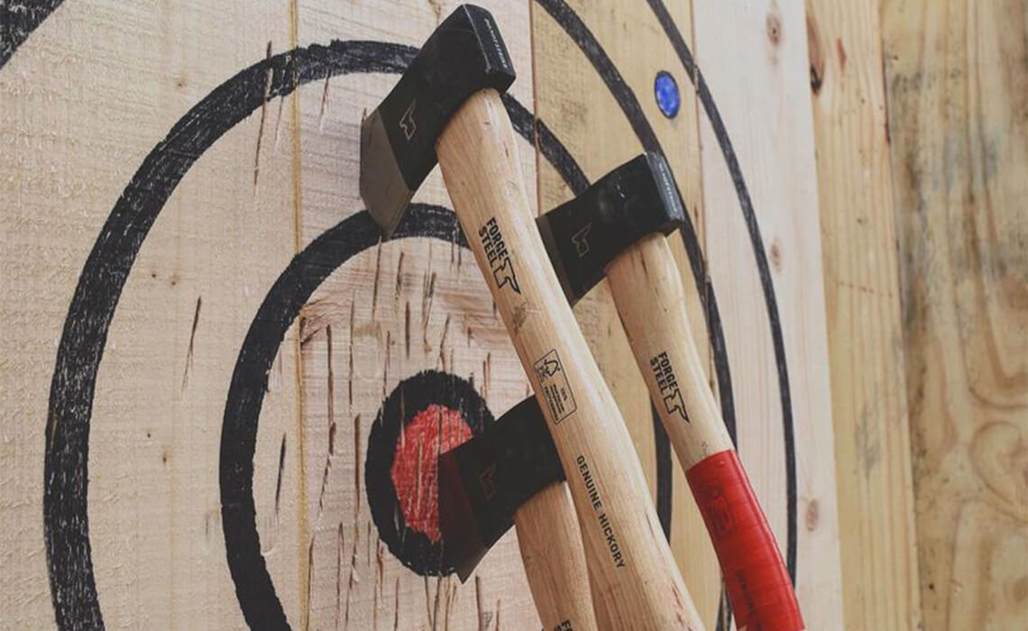 Axe throwing 1