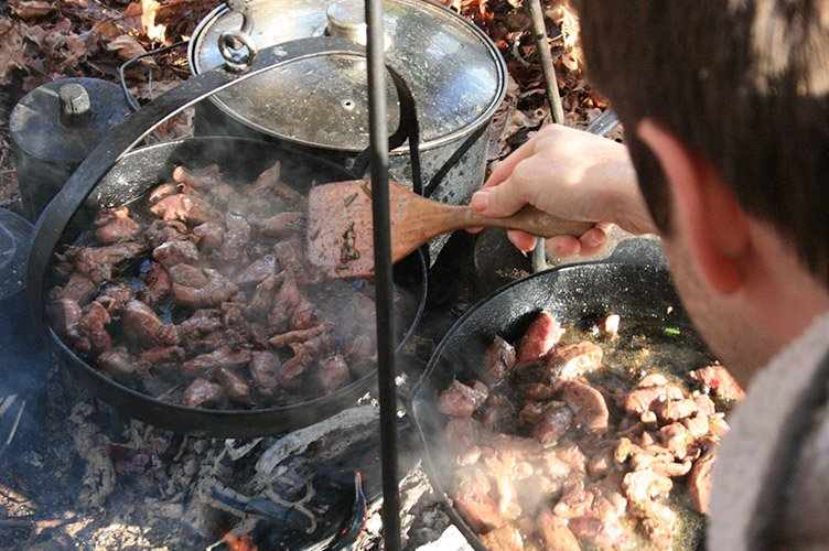 Bushcraft - Cooking 2
